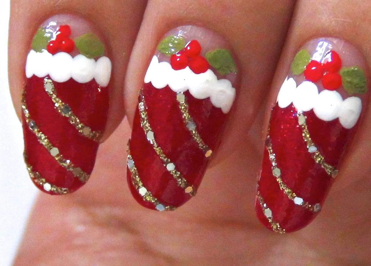 14 Christmas Nail Art Design Ideas Images