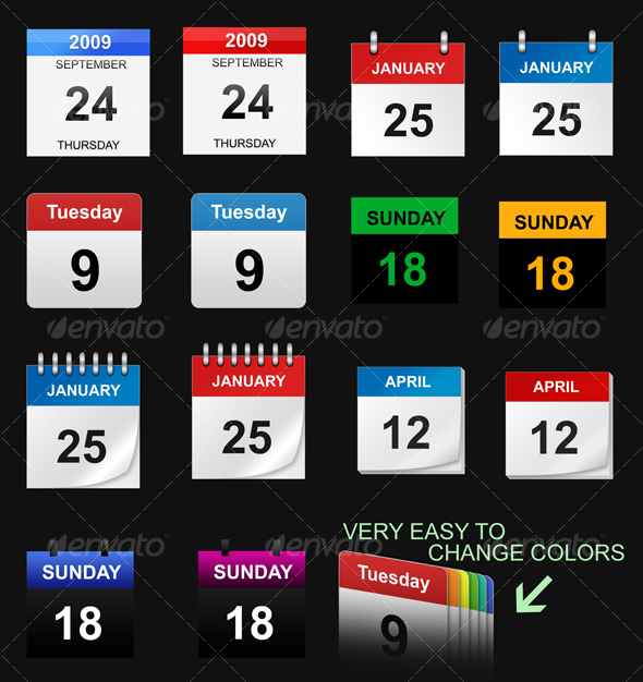 Event Calendar Icon : Cool calendar icons images vector icon