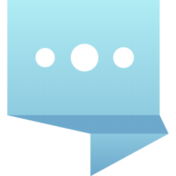 Flat Chat Icon