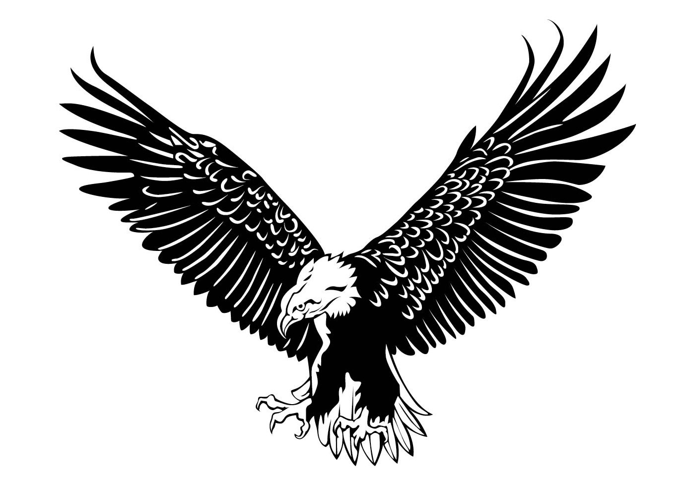 19 eagle vector art images eagle head clip art eagle