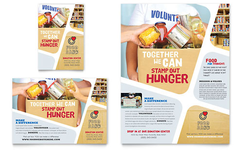 Food Bank Flyer Templates