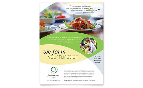 Food Catering Flyer Template