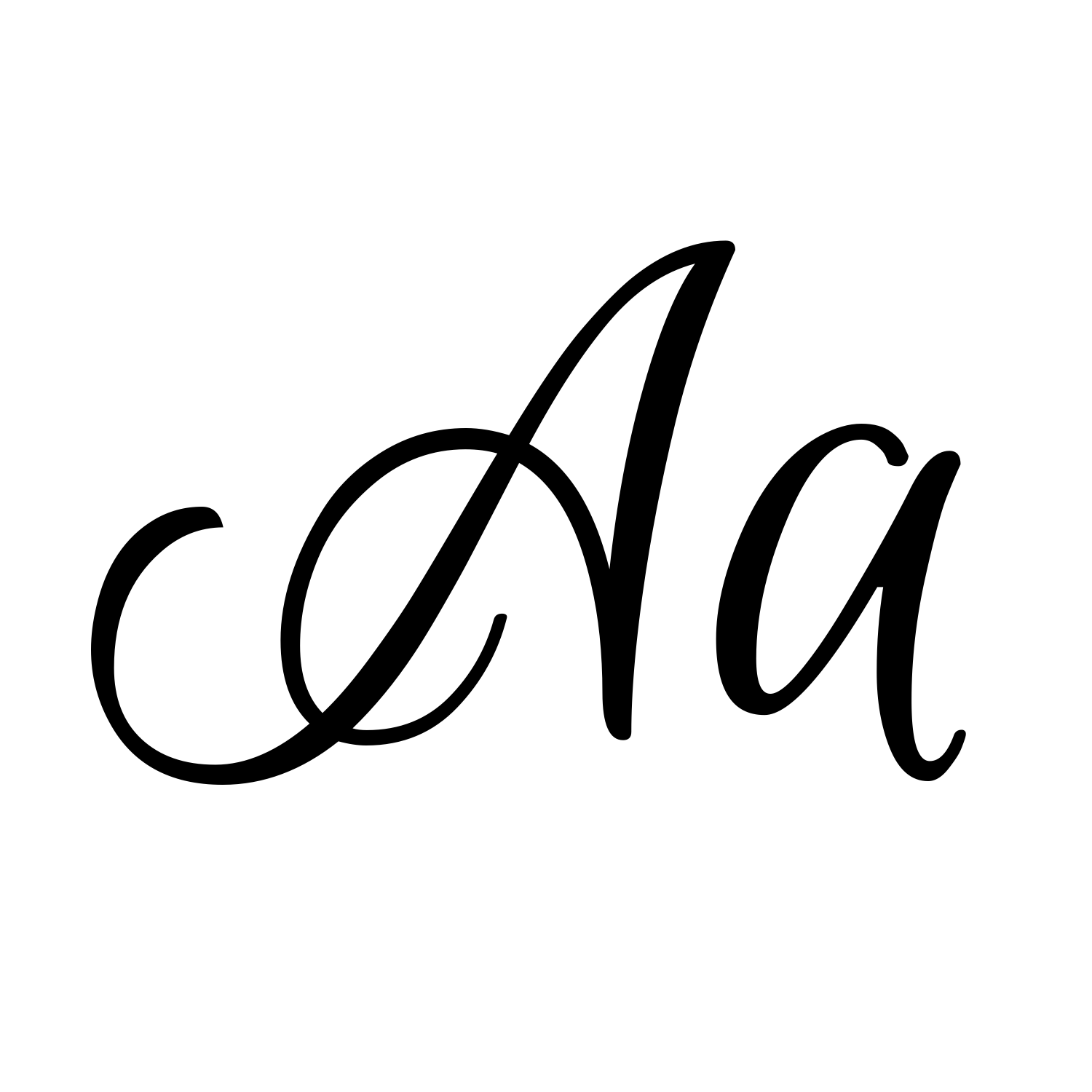 Free calligraphy fonts script images