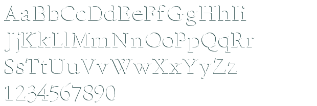 Free Embossed Fonts