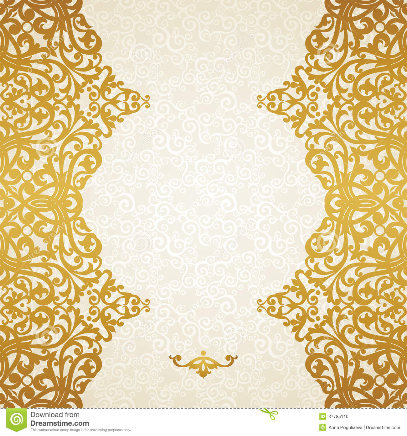14 Gold Vector Border Images Gold Borders And Frames