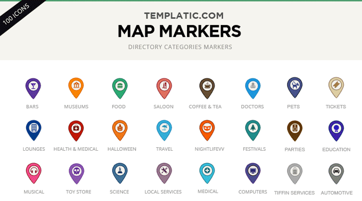 Google Map Marker Icon