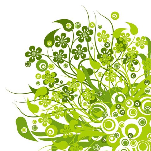 17 Green Vector Graphics Images