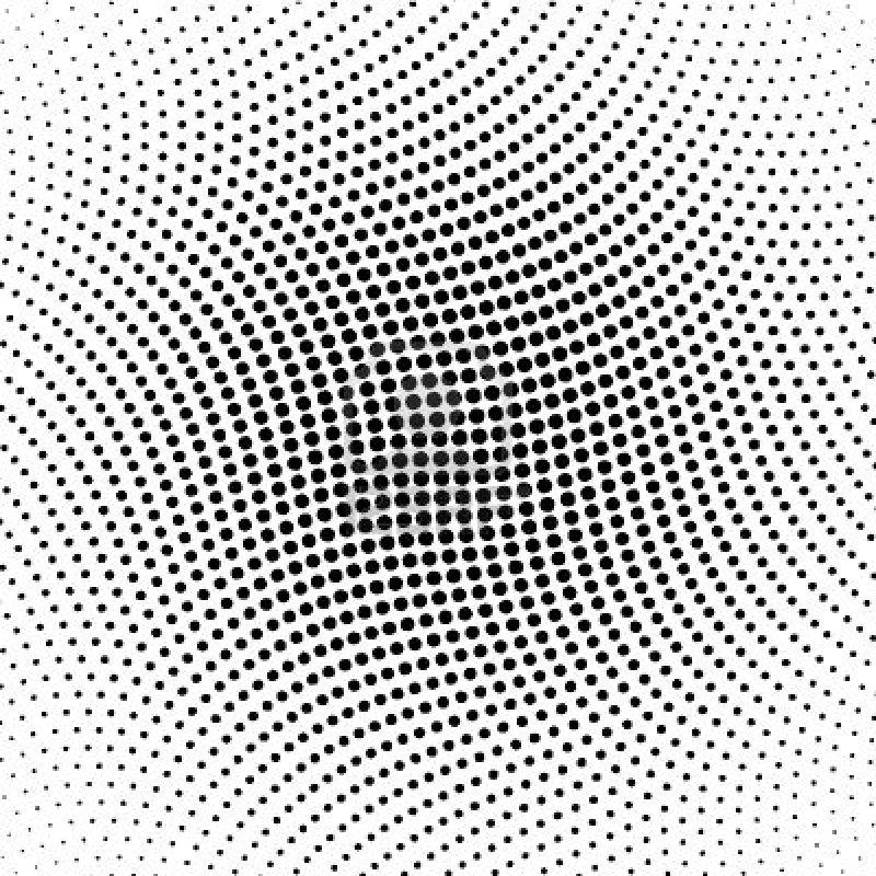 Line Art Vs Halftone : Gradient dot pattern vector images free