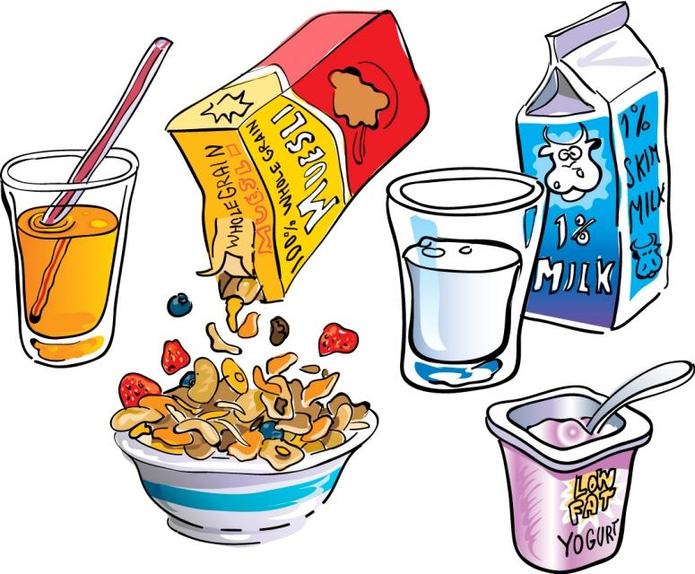 Healthy Breakfast Clip Art