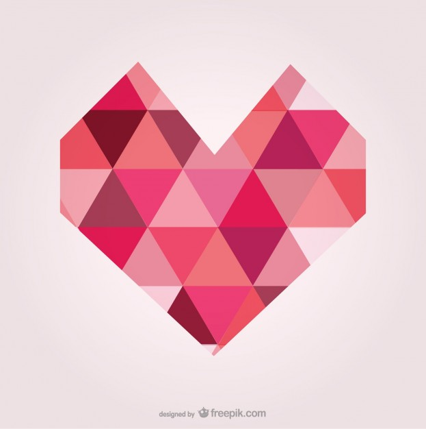Heart Shape Vector Free Download