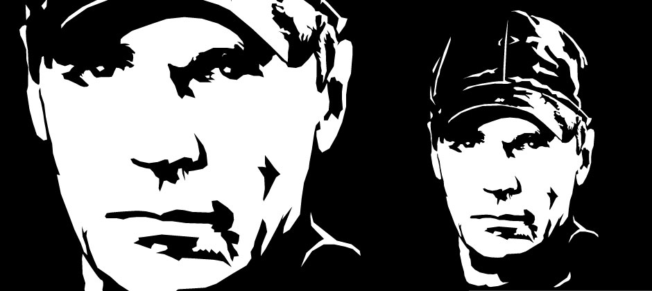 15 Black And White Vector Portrait Images