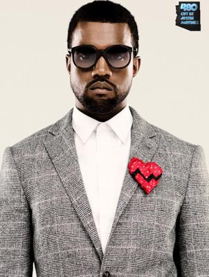 12 Kanye West Face PSD Images