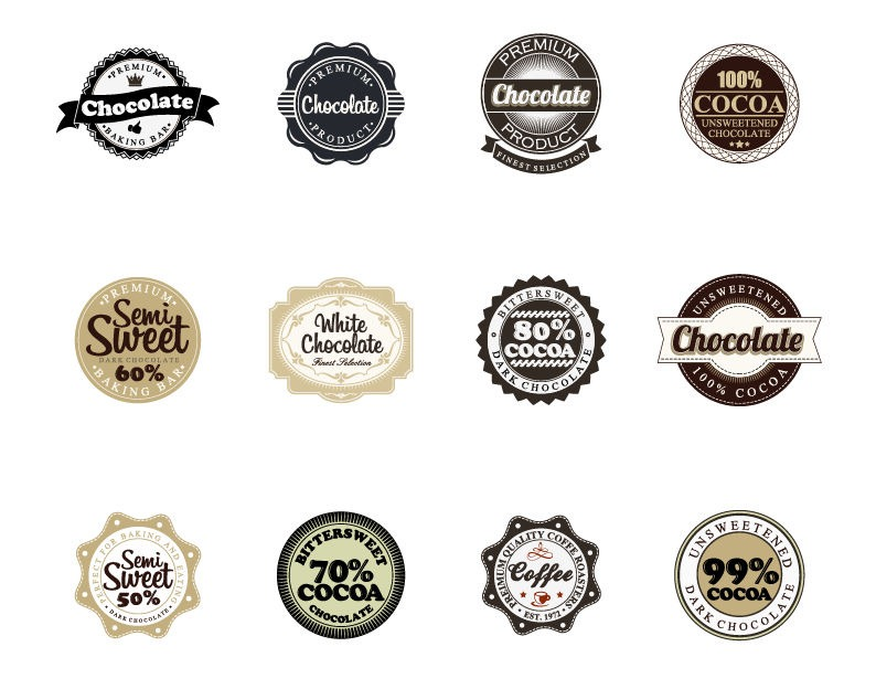 15 Badge Logo Vector Images