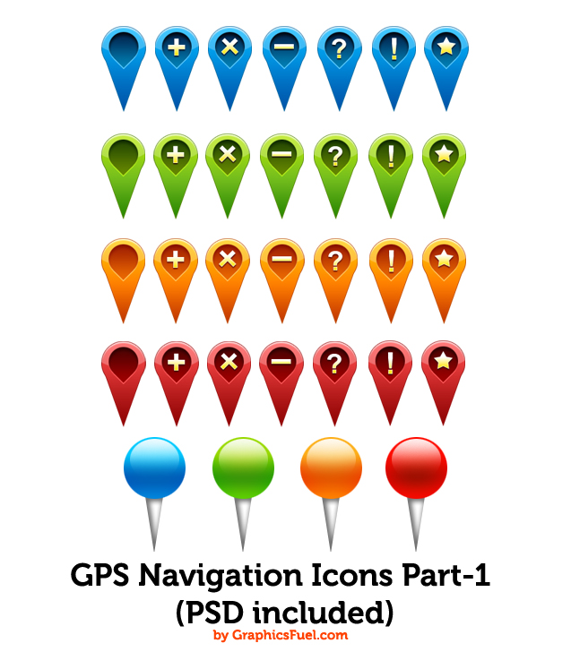 Map Icons Free