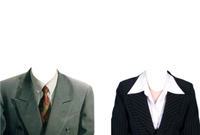Men Suit PSD Template