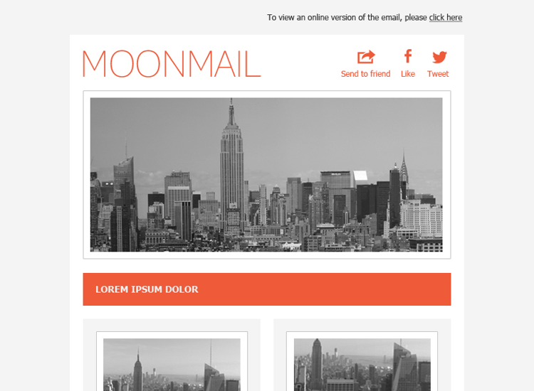 Modern Email Newsletter Templates
