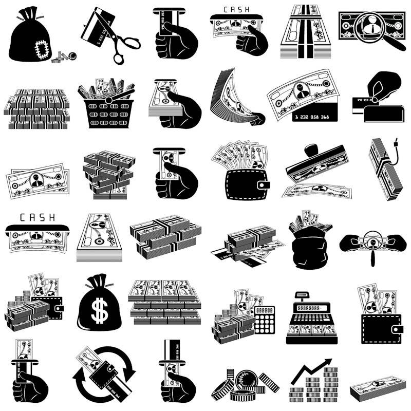 5 Free Vector Money Icons Images