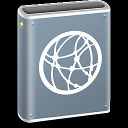 Network Drive Icon ICO