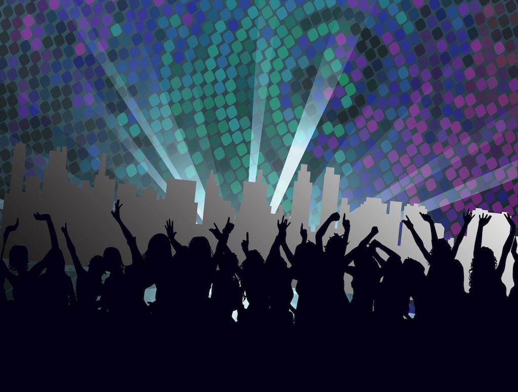 11 Night Club Vector Art Images