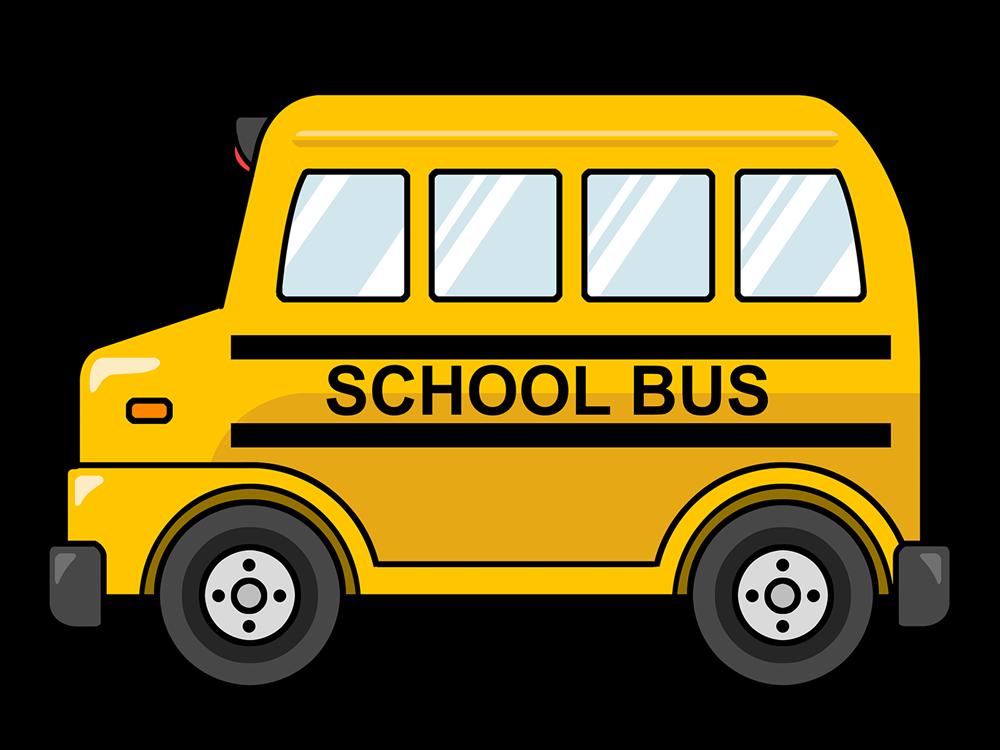 16 Cartoon Bus Icon Images