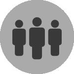 People Icon Grey