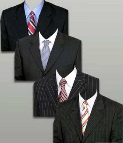 Photoshop PSD Free Images Coat and Tie