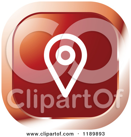 Red Location Pin Icon