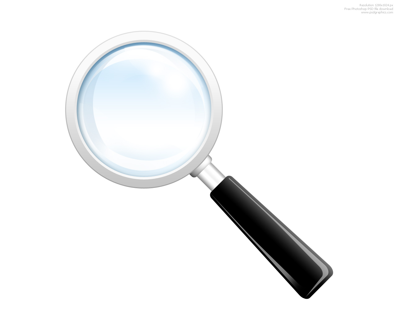 5 Magnifying Glass Search Icon Images