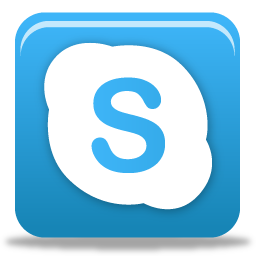 18 Skype Social Media Icons Images