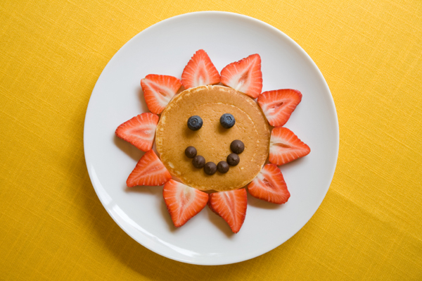 Smiley-Face Pancake Breakfast