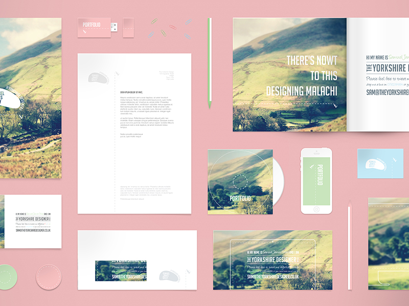 Stationary Mockup Psd Free