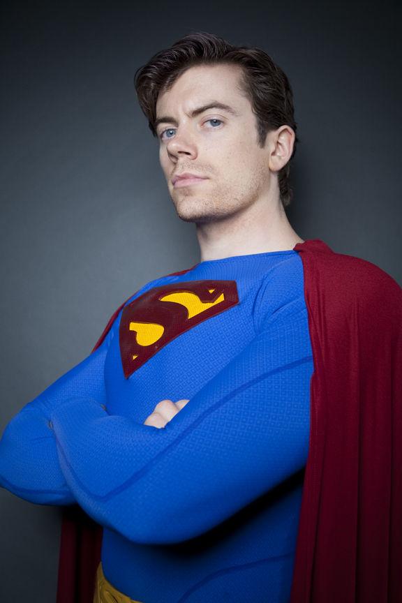 Superman Kryptonian Cosplay