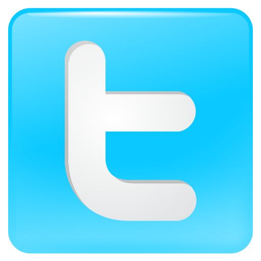 6 Media Social Twitter Icon Images
