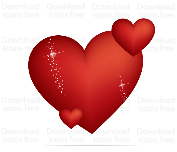 Valentine Heart Vector Graphic