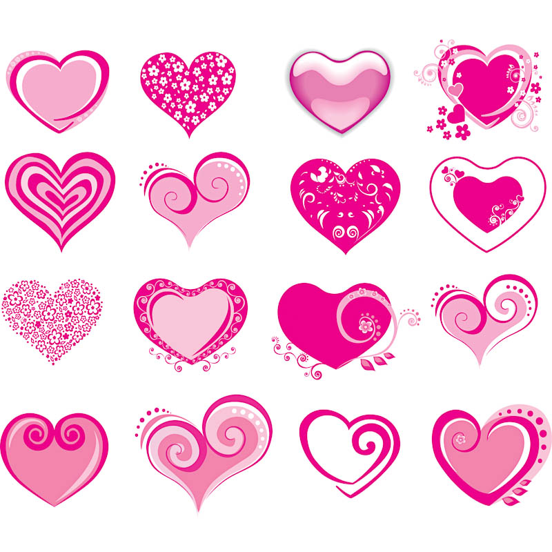 Valentine's Day Heart Vector