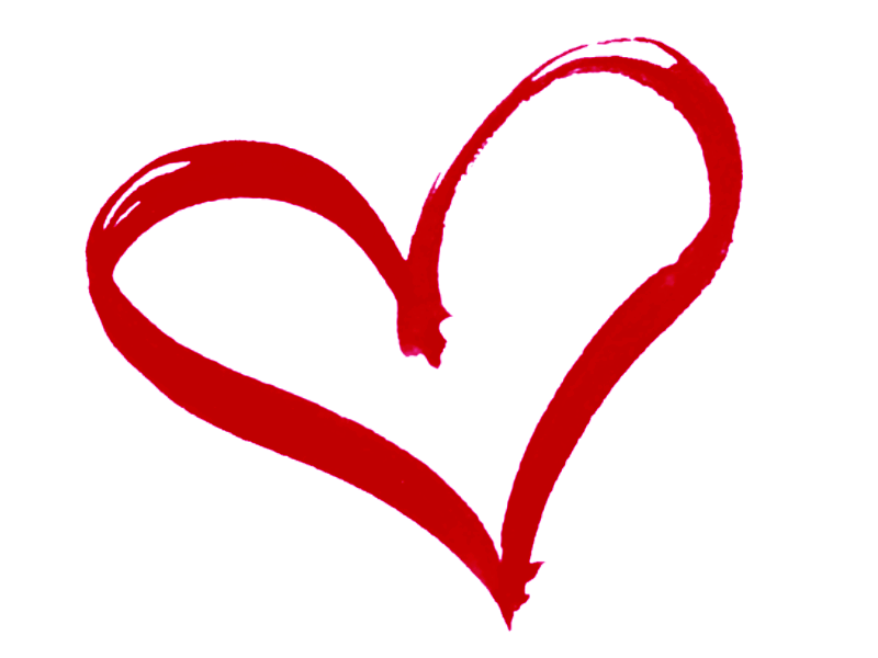 Vector Heart Outline Clip Art