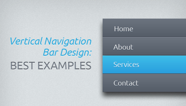 Vertical Navigation Designs