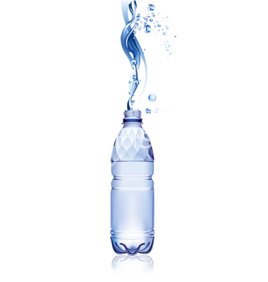 Water Bottle Vector Free