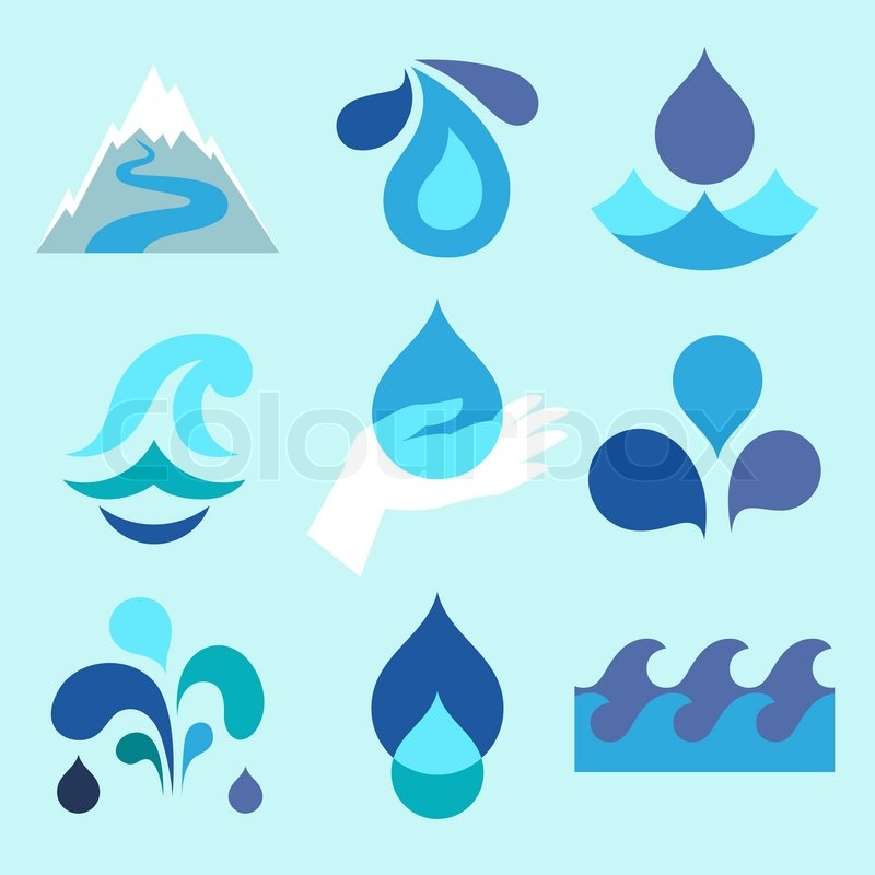 18 Water Drop Icon Design Images
