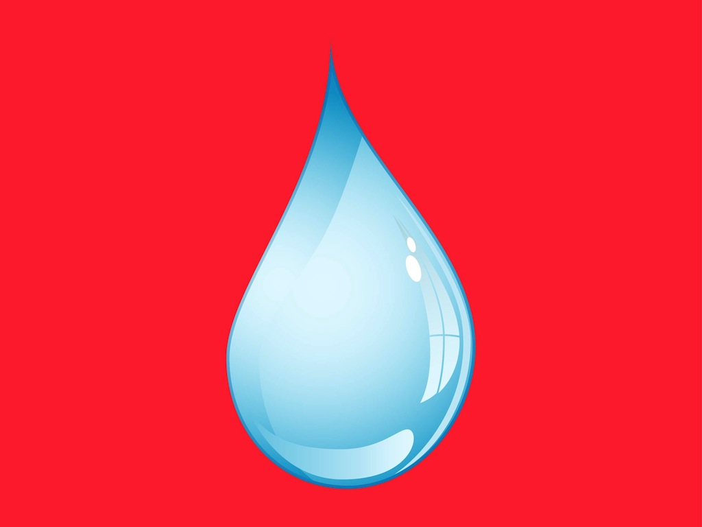 Water Drop Vector Free