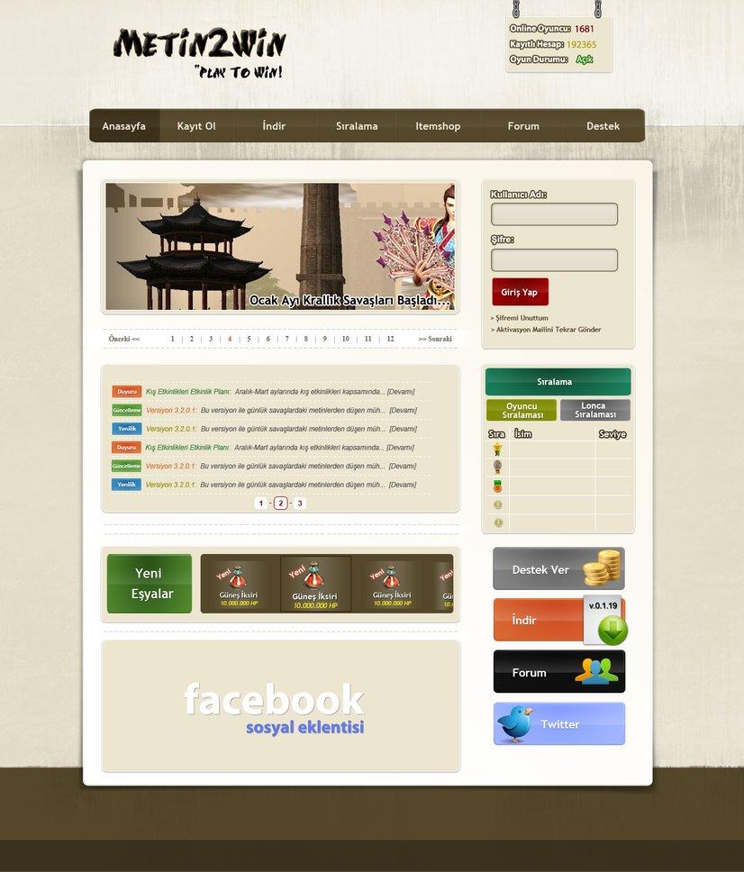 Web Design PSD