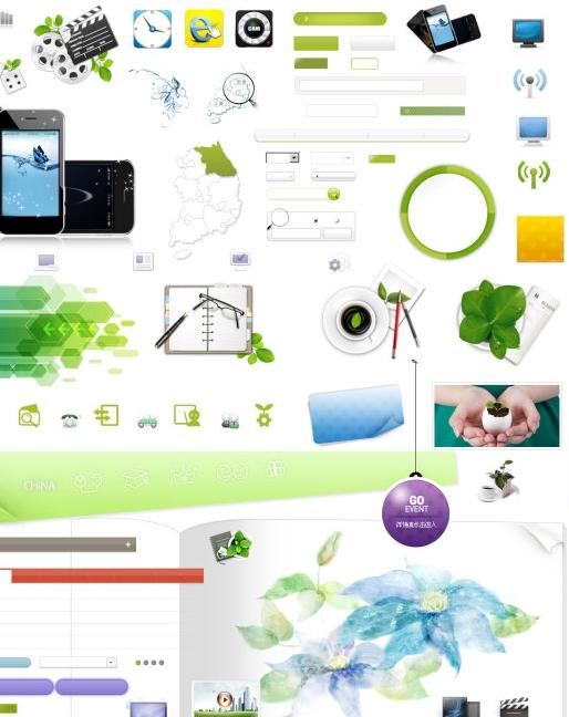 Website Design PSD Free Download