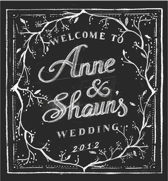 Welcome Chalkboard Signs Lettering