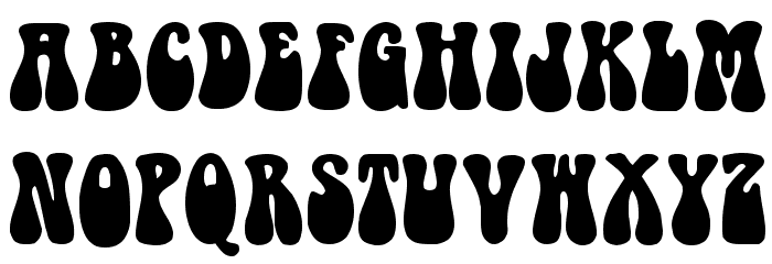 7 Groovy 60s Font Images