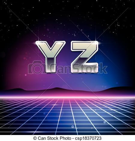 80s Sci-Fi Font