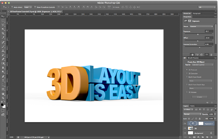 Adobe Photoshop 3D