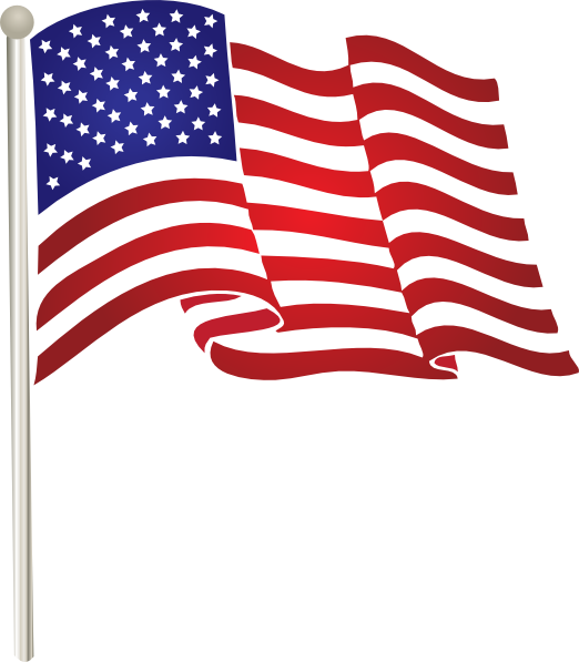 12 Free Vector United States Flag Clip Art Images
