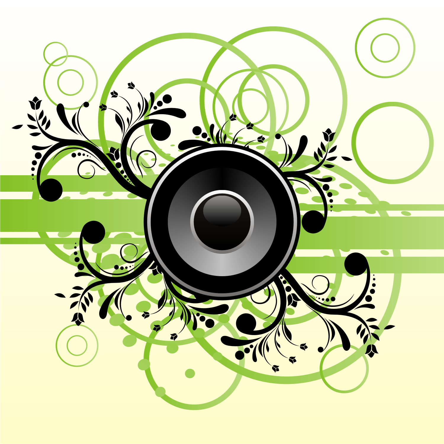 14 Vector DJ Speaker PNG Images - DJ Silhouette Vector ...