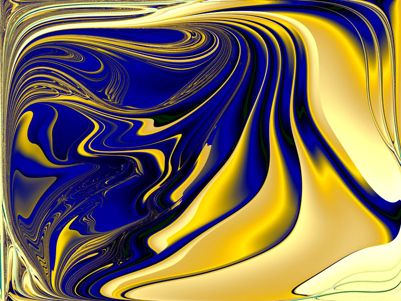 18 Blue And Gold Swirl Design Images