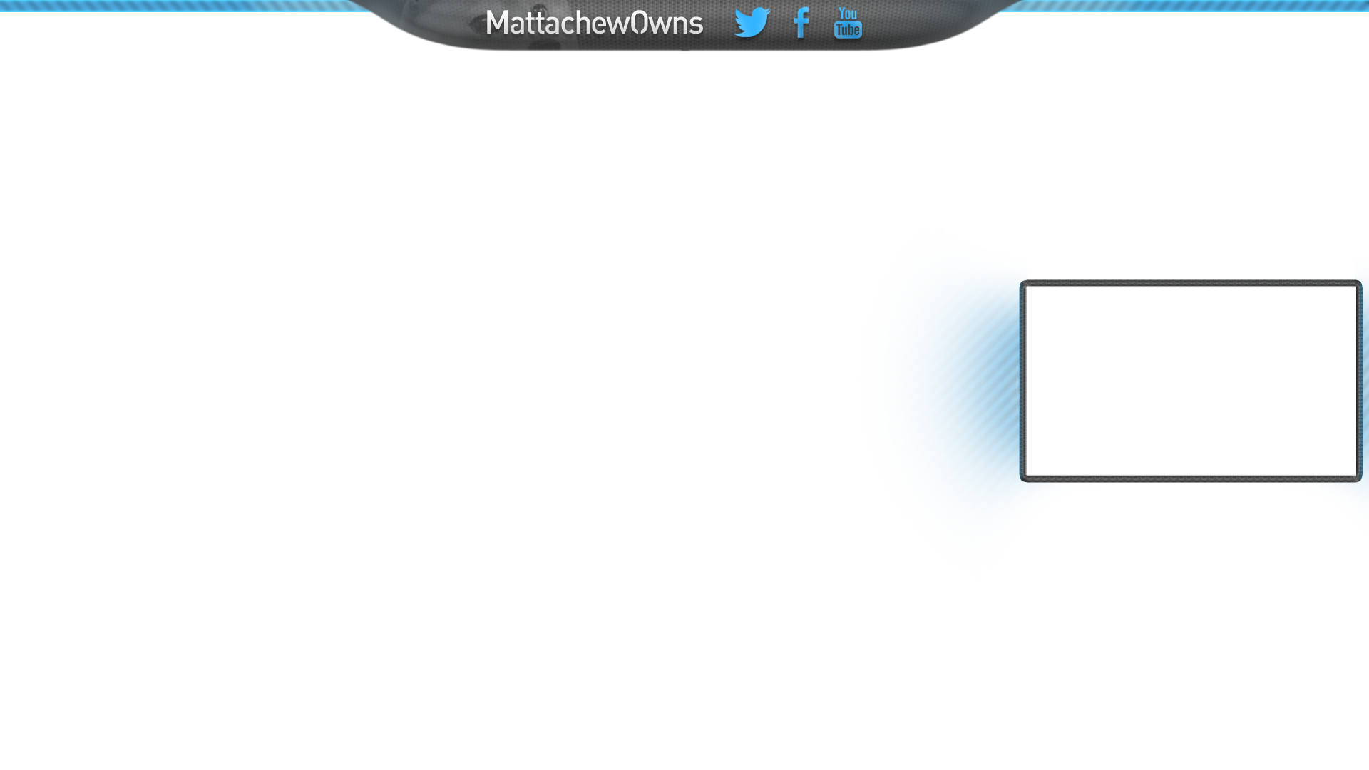Blue Twitch Overlay Template